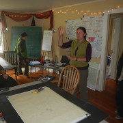 A recent Permaculture Design Course at Full Bloom