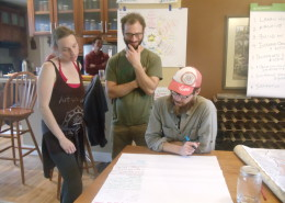 Community mapping event in Southern Oregon