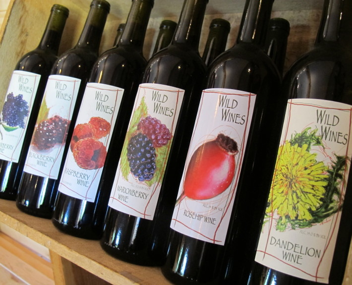 Wild Wines - local, ethically harvested and handmade