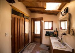 The bath house at Full Bloom Community